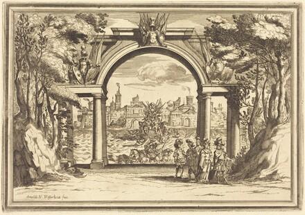 Il Greco in Troia: Plate 1