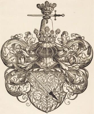 Coat of Arms of the Family Kress von Kressenstein