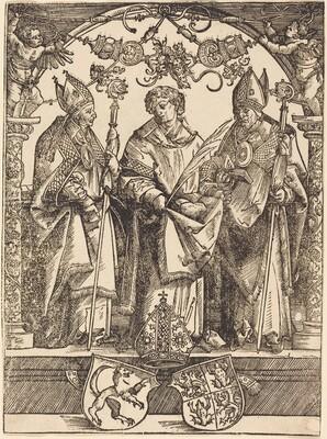 Saints Maximilian, Stephen, and Valentine