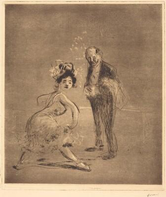 Dancer and Headwaiter