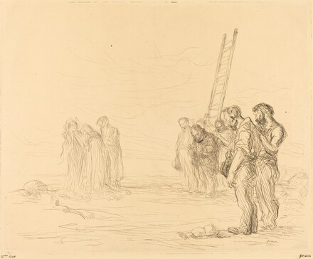 Calvary (first plate)