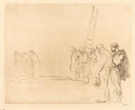 Calvary (second plate)