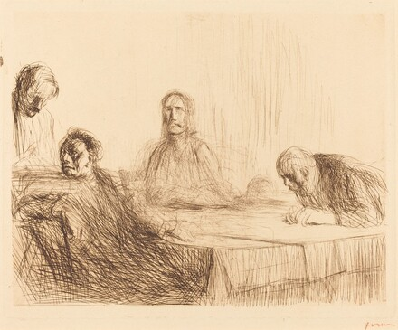 The Supper at Emmaus (second plate)