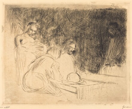 The Supper at Emmaus (third plate)