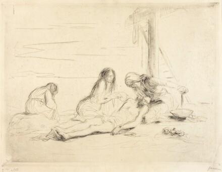 Pietà (first plate)