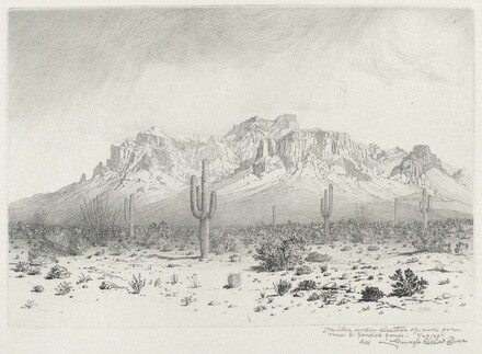Superstition Mountain, Apache Trail, Arizona (no.1)