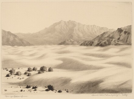 Dunes near Palm Springs, California (no.2)