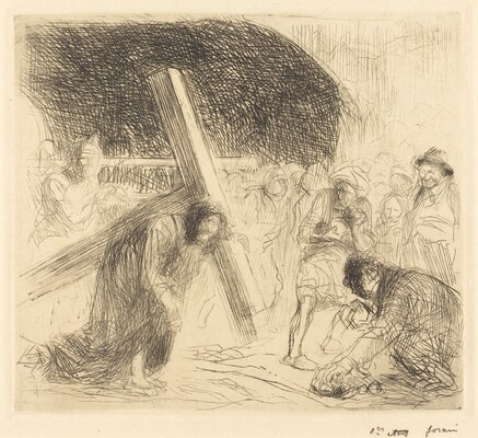 Christ Carrying the Cross (seventh plate)