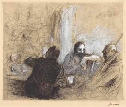 Pilgrims at Emmaus