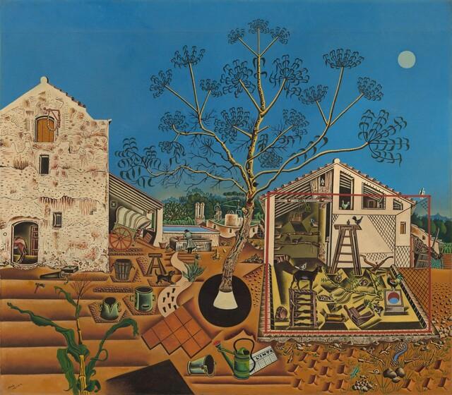 Joan Miró, The Farm, 1921-1922
