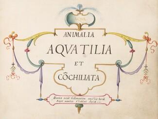 Animalia Aqvatilia et Cochiliata (Aqva): Title Page