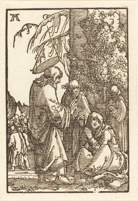 Christ Taking Leave of Mary before the Passion