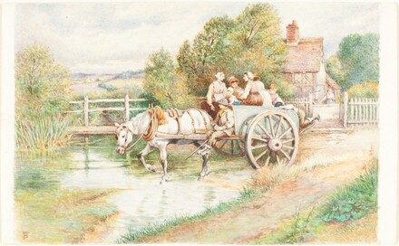Children in a Cart