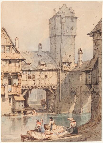 Laundresses before the Wasserturm, Nuremberg