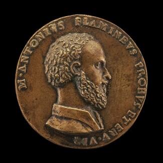 Marcantonio Flaminio, 1498-1550, poet [obverse]