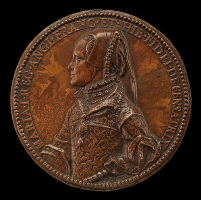 Mary Tudor, 1516-1558, Queen of England 1552 [obverse]