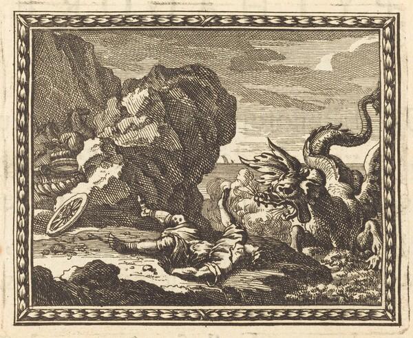 Hippolytus and the Sea Monster