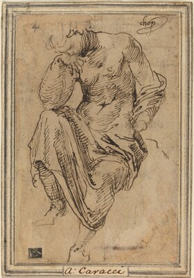 Seated Female Figure after the Antique