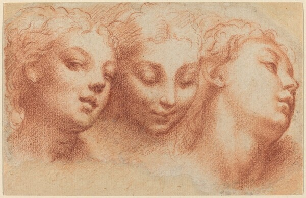 Three Feminine Heads