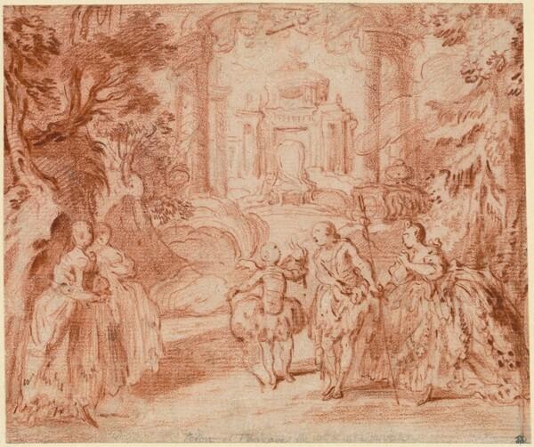 The Divertissement from Voltaire's La princesse de Navarre