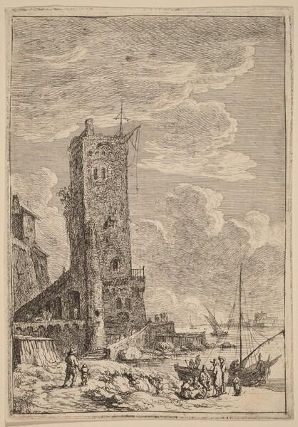 Harbor at Livorno
