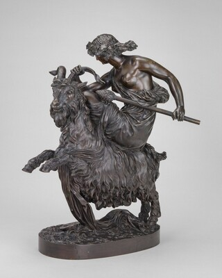 Bacchante with a Goat