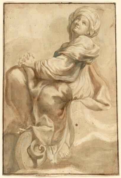 Seated Sibyl