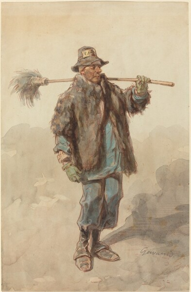 The Street Sweeper (Le Cantonnier)