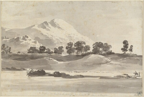 Mount Cairo from across the Melfa River