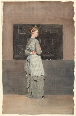 Winslow Homer, Blackboard, 1877