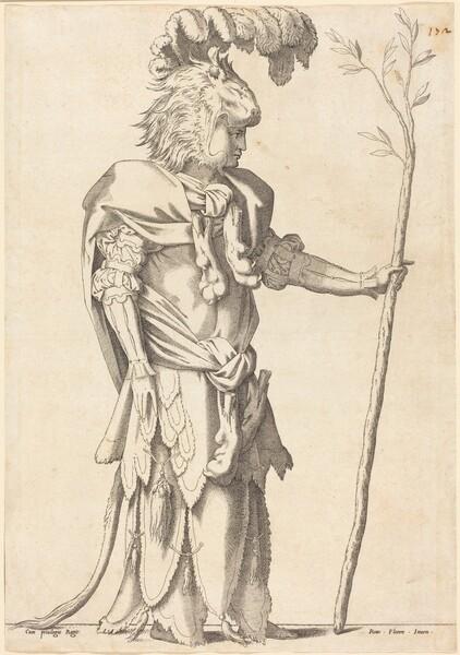 Figure Costumed as Hercules