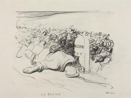 La Borne, Verdun