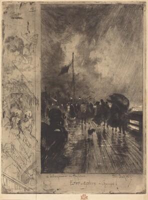 Un Débarquement en Angleterre (Landing in England)
