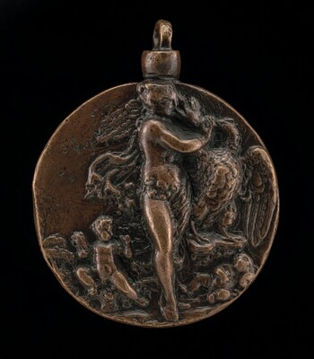 Standing Leda and the Swan [obverse]