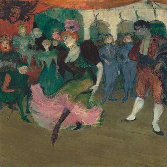 Henri de Toulouse-Lautrec, Marcelle Lender Dancing the Bolero in