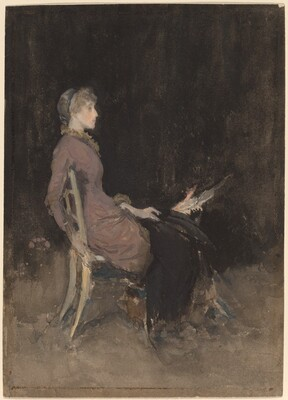 Study in Black and Gold (Madge O'Donoghue)