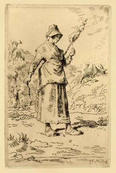 Composition de F. Millet (Composition by F. Millet)