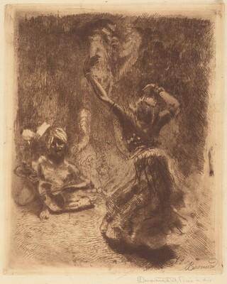 The Dancer of Tanjore (La bayadère de Tanjore)