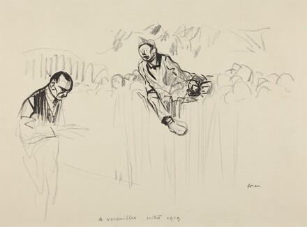 A Versailles juillet 1919