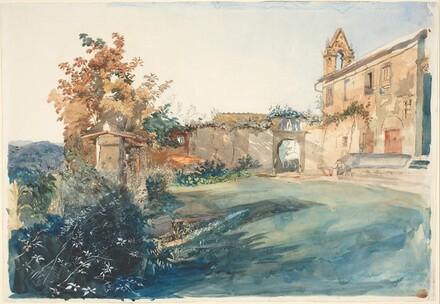 The Garden of San Miniato near Florence