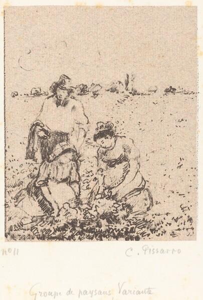 Groupe de paysans (Group of Peasants)