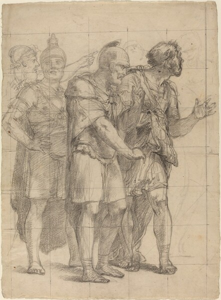 Four Standing Warriors