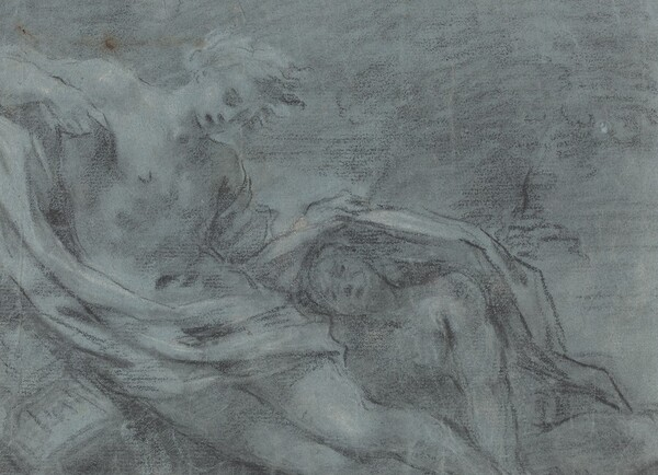 Two Reclining Figures [verso]