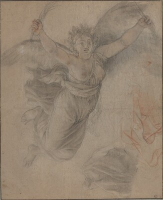 An Allegorical Female Figure
