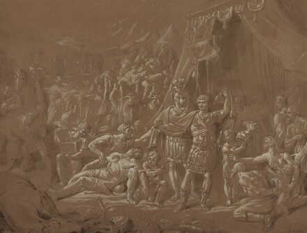 A Scene from the Life of Trajan