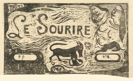 Title Page for Le Sourire (Titre du Sourire)