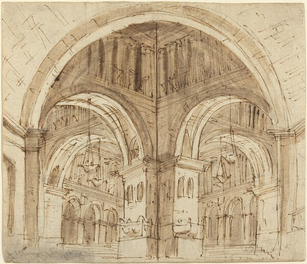 Design for a Vaulted Hall