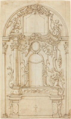 Study for an Altar and a Reredos