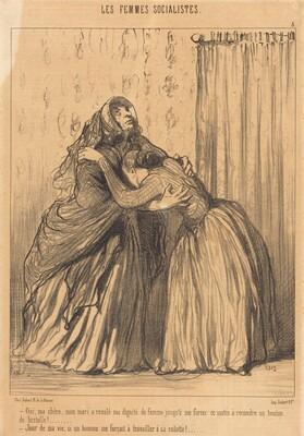 Oui, ma chère, mon mari a ravalé ma dignité...