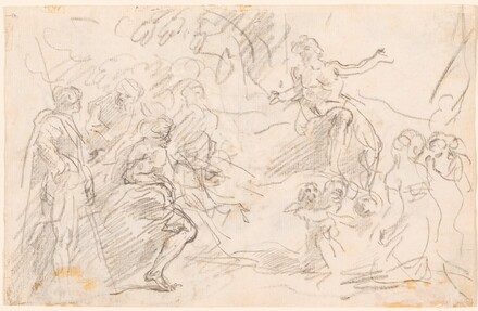 Biblical Scene [verso]